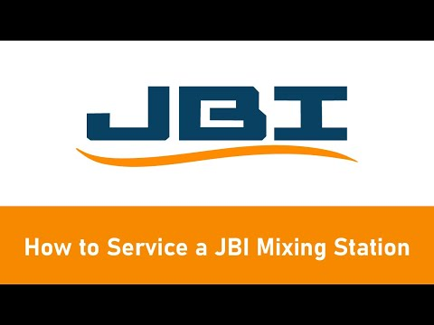 How to Service a JBI Mixing Station