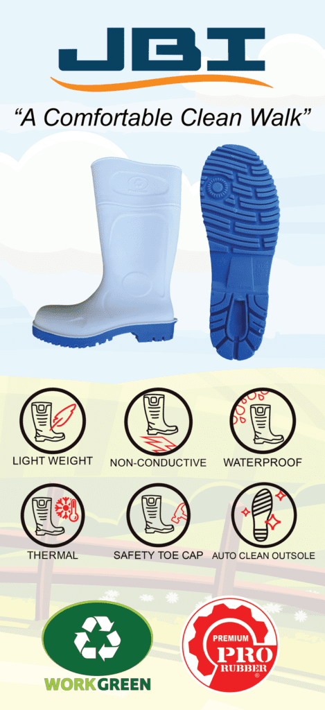 JBI Distributors | Working Green Boots