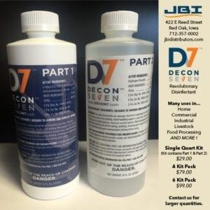 Decon7 Quart Kits