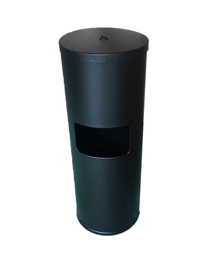 Black Powder Coated Stainless Steel Dispenser