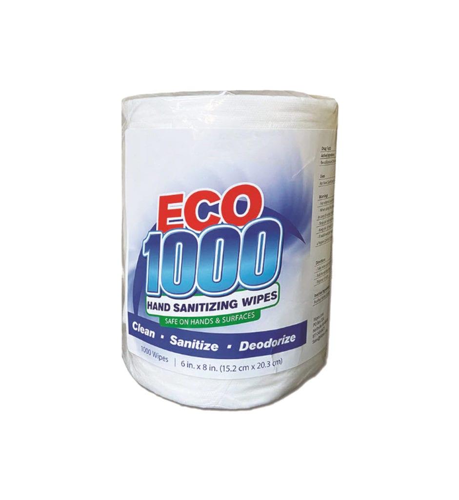 ECO1000 Sanitizing Wipes