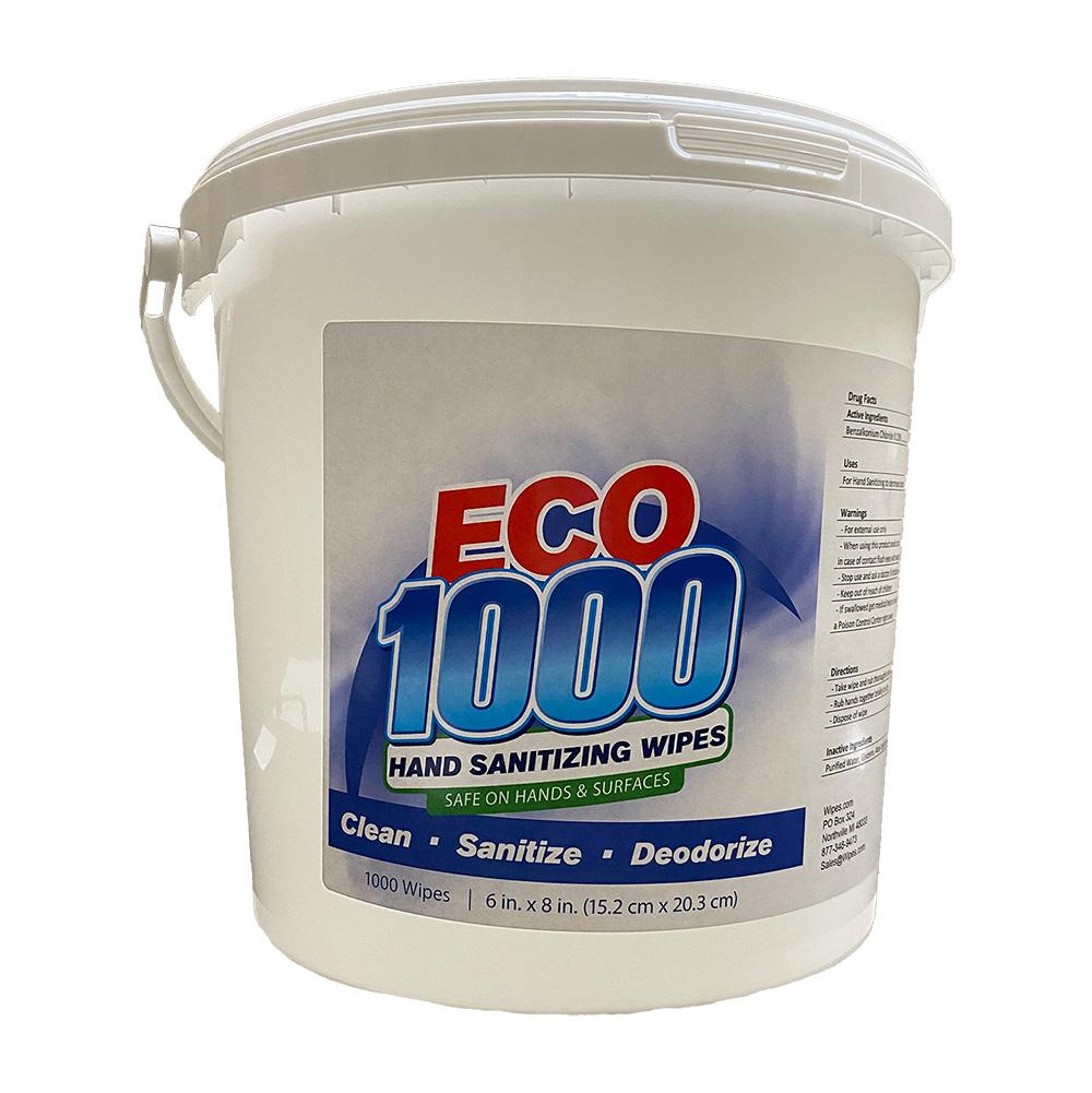 ECO1000 Sanitizing Wipe Bucket Dispenser
