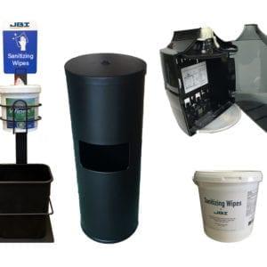Sanitizing Wipe Dispensers