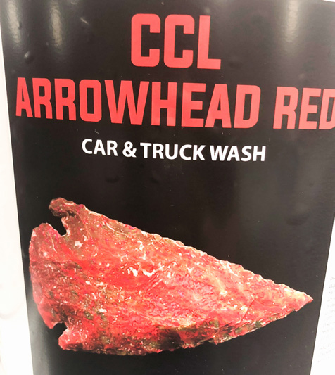 CCL ARROWHEAD RED