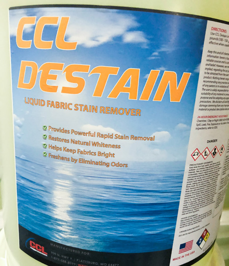 CCL DESTAINER
