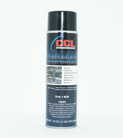 CCL PROFESSIONAL UNDERCOATING