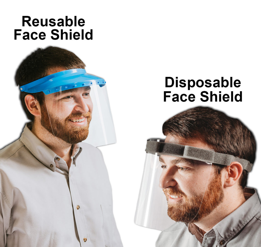 Reusable and Disposable Safety Visor Face Shield
